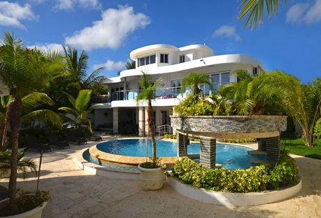 luxury villa for parties in Sosua