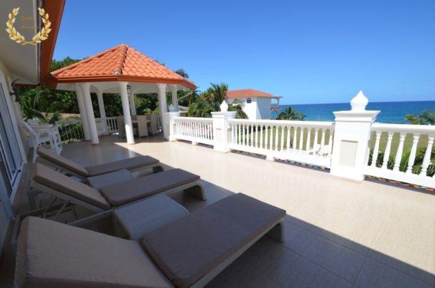 Sosua Oceanfront Villa Rental Dominican Republic