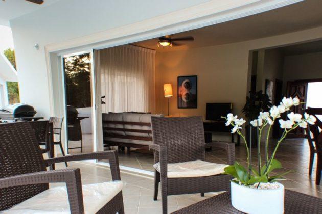 chairs in the veranda