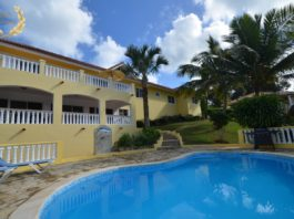 hilltop villa rental in Sosua