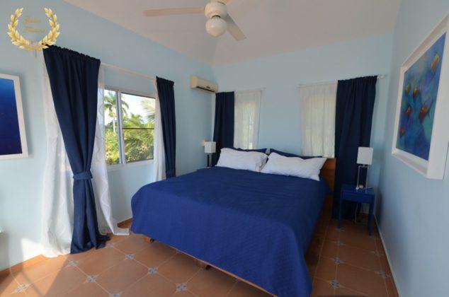 Main suite in blue