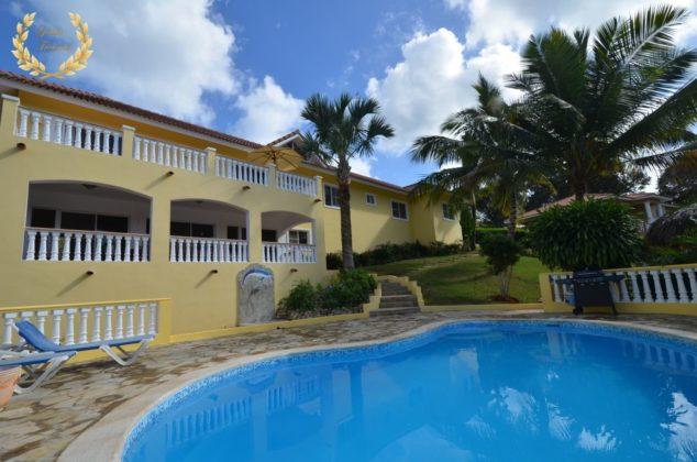 Ocean View 4 bedroom Rental Sosua Villa