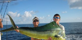 Mahi fishing in Sosua, DR