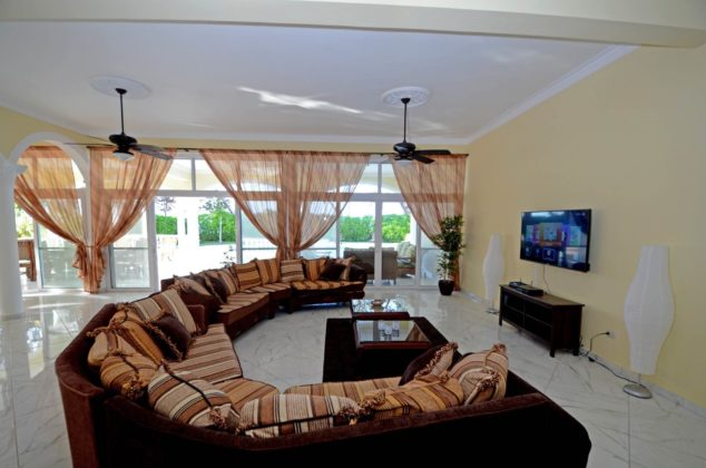 wraparound sofa