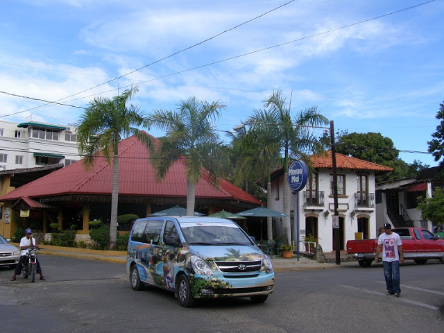 The main district of Sosua, El Batey