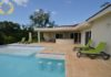 2 bedroom villa rental with shallow pool ledge in Sosua