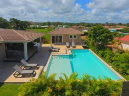 3 bedroom Sosua villa with pool and deck