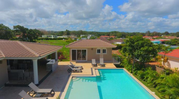 3 bedroom Sosua villa with pool and deck