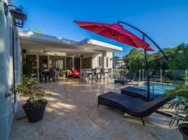 3 bedroom villa with modern new style in Sosua