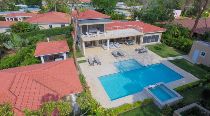 4 bedroom deluxe villa in Sosua