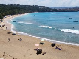The newly expanded Sosua Beach